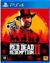 Jogo Red Dead Redemption II - PS4