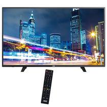 TV Smart AOC LE55F1761 55 Full HD + Conversor - Preto