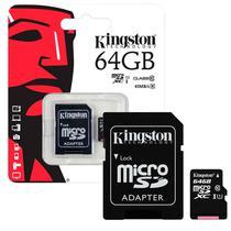 Cartao de Memoria Kingston 64GB Classe 10