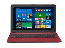 Notebook Asus X541UA-WB51T i5-7200/ 8GB/ 1TB/ Touch/ 15P/ W10 Vermelho