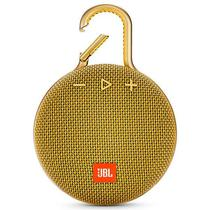 Caixa de Som JBL Clip 3com Bluetooth/Auxiliar Bateria 1.000 Mah - Amarelo