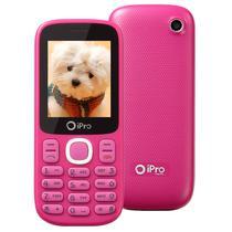 Celular Ipro I3200 Dual Sim Tela 2.0/Bluetooth/ Anatel-Rosa