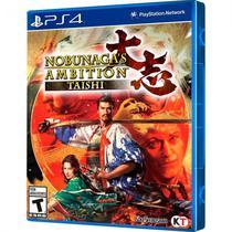 Jogo Nobunagas Ambition Taishi PS4