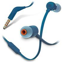 Fone de Ouvido JBL T110 com Microfone - Azul