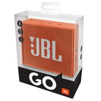 Caixa de Som JBL Go com Bluetooth/Auxiliar Bateria 600 Mah - Laranja