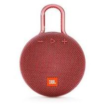 Caixa de Som JBL Clip 3 Vermelho Bluetooth