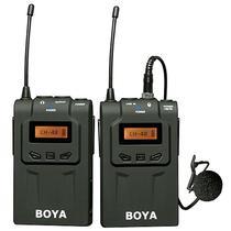 Microfone Boya BY-WM6 Recpt Trasm Lapela