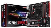Placa Mãe Gigabyte LGA1151 B250M Gaming 5