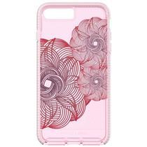 Capa para iPhone 7 Plus/8 Plus TECH21 Evo Check Evoke Edition Rosa/Vermelho