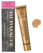 Base Dermacol Makeup Cover - Cor 224 30G