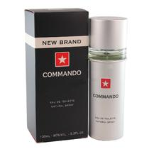 Perfume New Brand Commando Men 100ML Masculino