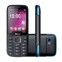 Celular Blu Jenny TV T276T DS 24/32MB 2.8 Camera 1.3MP - Preto/Azul