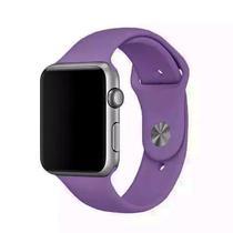 Pulseira 4LIFE de Silicone para Apple Watch 42MM - Roxo Escuro