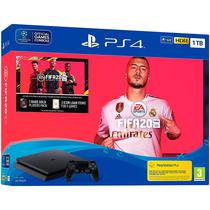 Console Sony Playstation 4 1TB Modelo 2215 Bundle Fifa 20 - Preto
