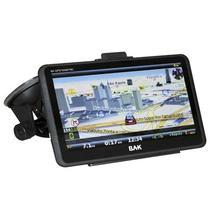 "GPS BAK BK-GPS7009 7""/com Mapa Brasil/ Bluetooth/ TV Digital-Preto"