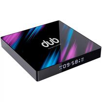 TV Box Dub 4K Ultra HD Iptv Wi-Fi/ 2GB Ram/ 16GB Rom/ Android 7.1/ Bivolt- Preto