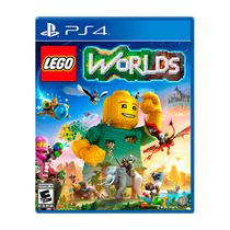 Juego Sony Playstation 4 Lego Worlds
