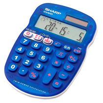 Calculadora Sharp EL-S25B-BL com 10 Digitos - Azul