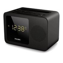 Relogio Despertador com Speaker Philips AJT5300/37 com Bluetooth/USB Bivolt - Preto