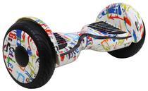 """Scooter Eletrico Foston 4400S com Roda de 10"""" com Bluetooth - Graffiti"""