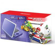 Console Nintendo 2DS XL Purple Silver com Mario Kart 7