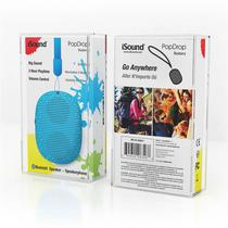 Caixa de Som Isound Popdrop Bluetooth - Azul