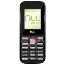 Celular Nuu F2-AM Dual Sim Tela de 1.77 VGA - Preto/Vermelho