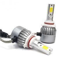 Lampada de LED para Carro Ultra LED Headlight C6 HB4=9006 36W/6000K/3800L s/Garantia