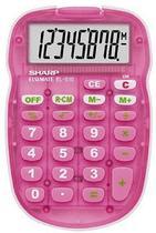 Calculadora Sharp EL-S10B-PK Rosa