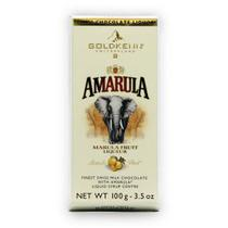 Barra de Chocolate Goldken Recheio Licor Amarula 100G