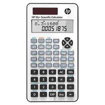 Calculadora Cientifica HP 10+ com 240 Funcoes - Branca/Preta