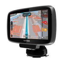 "GPS Tomtom Go 500 5"" Mapa Brasil Micro SD-Preto"