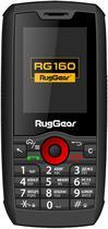 Celular Ruggear RG-160 Pro DS - 5.0 Polegadas - Dual-Sim - 3G - A Prova Dequot;Agua - Pretro