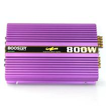 Amplificador Booster 4CH BA-610GX Stereo 800W Gold