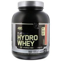 Optimum Nutrition Platinum Hydrowhey - Supercharged Strawberry 40 Porcoes 3.5LB (1.59 KG)