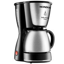 Cafeteira Mondial Dolce Arome C-34 JI-15X 550 Watts de 1.5 Litros 127V~60HZ - Preto/Prata