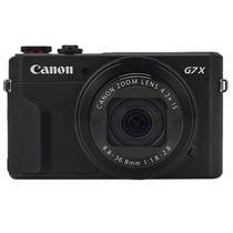 "Camera Canon Powershot G7X Mark II 20.1MP 3"" Touch/Wi-Fi/NFC - Preta"
