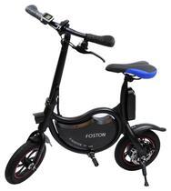 """Bicicleta Eletrica Foston P12 com Rodas de 12"""" - Preto"""
