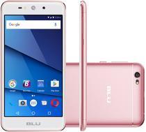"""Smartphone Blu Grand XL Dual Sim 3G Tela 5.5""""HD Cpu 4Core Cam. 8MP+5MP Rose"""