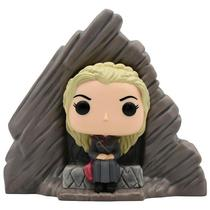 Boneco Funko Pop Game Of Thrones - Daenerys Targaryen On Dragonstone Throne 63