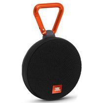Caixa de Som JBL Clip 2 3W com Bluetooth/Microfone Bateria 730 Mah - Preto