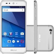 """Smartphone Blu Grand X Lte Dual Sim Tela 5.0""""HD Cam. 8MP+5MP Prata"""