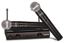 Microfone Profissional Quanta QTMIC-103 Wireless Preto