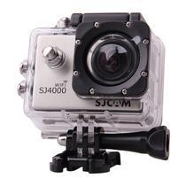 """Filmadora Sjcam SJ4000 Wifi - LCD 2""""/12MP/FHD Prata"""