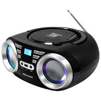 Aparelho de Som Megastar MP-1813BT com Bluetooth/USB/CD/FM Bivolt - Preto