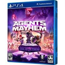 Jogo Agents Of Mayhen Day One Edition PS4