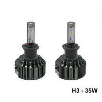 Lampada Ultra LED M1 H3 35WATTS 6200K Luz Branca