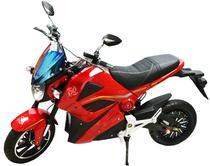 Moto Eletrica Hoss Knight X3 Vermelha