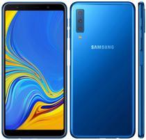"Smartphone Samsung Galaxy A7 SM-A750G 4GB/64GB Lte Dual Sim 6.0""Cam.24MP/5MP/8MP+24MP-Azul"