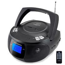 Aparelho de Som Powerpack RUBT-528.BK com Bluetooth/ FM/ USB/ Auxiliar/ Bivolt - Preto